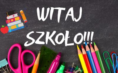 Początek roku szkolnego 2021/2022